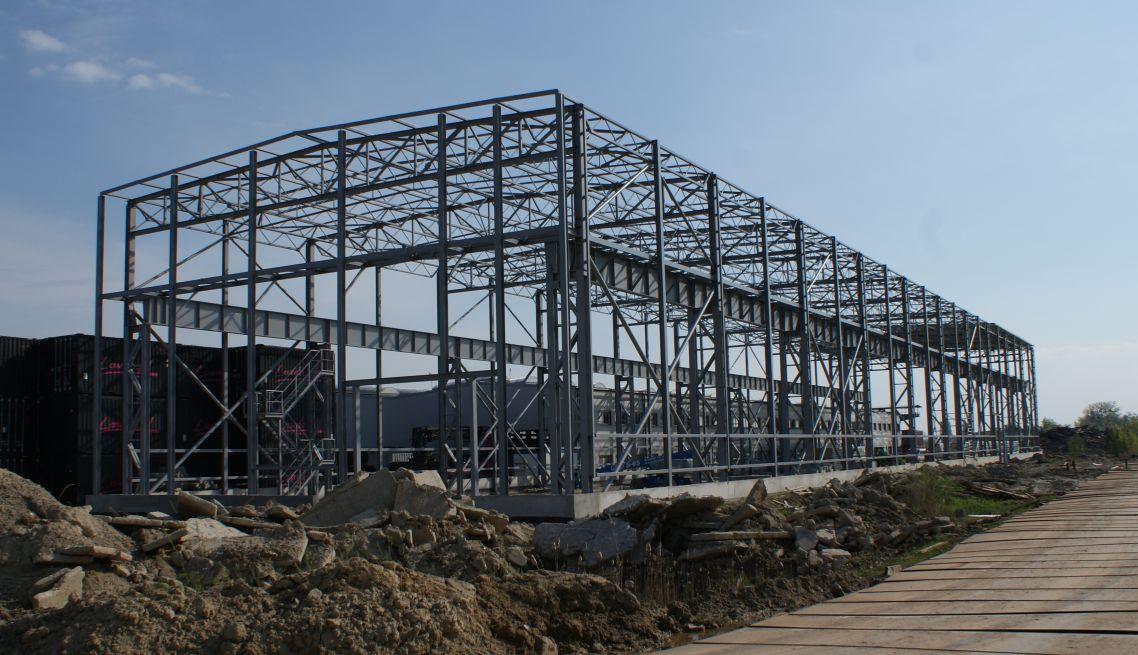 konstrukcja stalowa hali 1